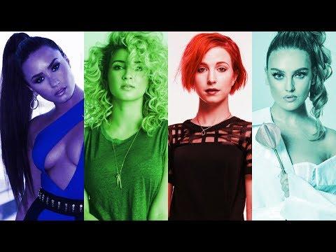 Demi Lovato vs Hayley Williams vs Perrie Edwards vs Tori Kelly: Belting Battle (A4-A5)