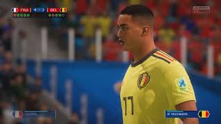 Penalty Shootout! - France vs Belgium - FIFA 18 World Cup 1/2 Final