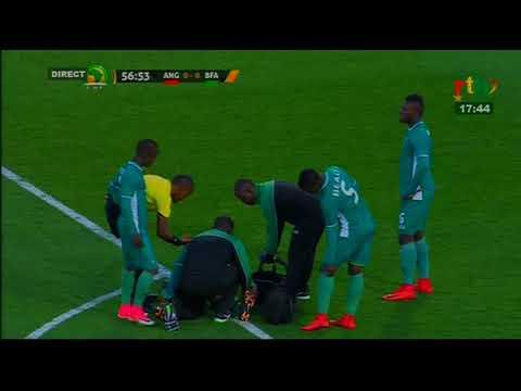 CHAN 2018 / Angola Vs Burkina Faso / 2ème mi-temps