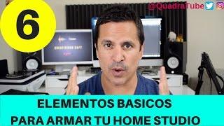 6 elementos basicos para armar tu home studio | que necesito para mi home studio?