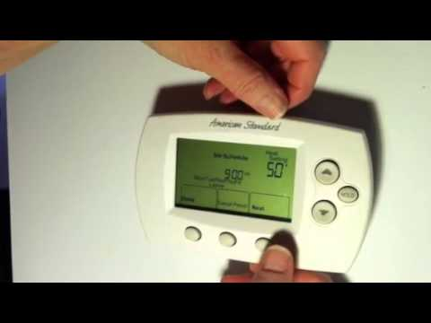Program your thermostat youtube program your thermostat sciox Choice Image