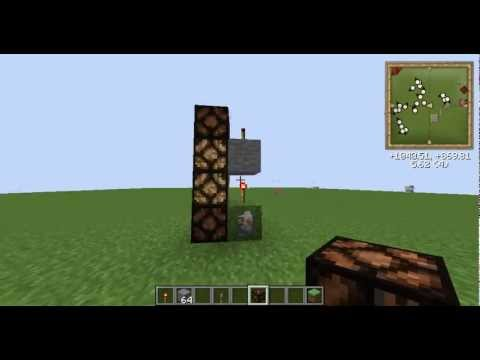 Minecraft How To Use Red Stone Torch Youtube