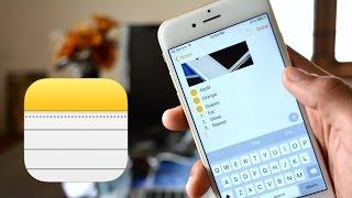 iOS 9 : Notes