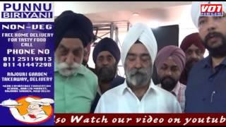 Amarjeet Singh Pappu Felicitation program in Tilak Nagar
