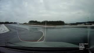 Lexus IS200 Drift Versuch Übung 2 Auf abgesperrte Teststrecke