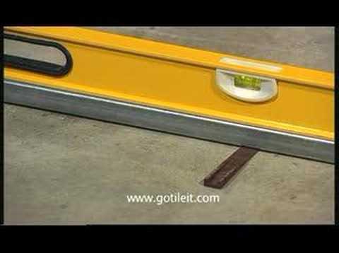 Ultraspreader Flooring And Floor Tile Tool Adhesive Spreader Youtube