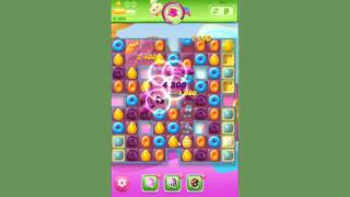 Candy Crush Jelly Level 154  -  no boosters