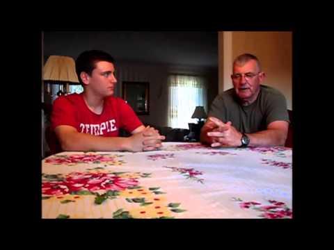 Lance Corporal Dennis Pfeil interview