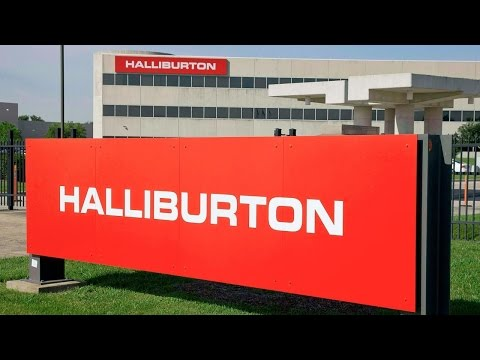 Halliburton Shares Slump on Quarterly Results That Are Better-Than-Expected