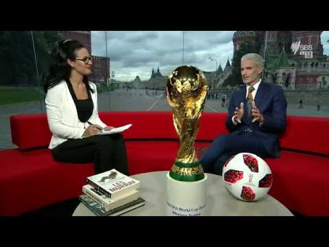 Football's Holy Grail: The FIFA World Cup Trophy In Our Moscow Studio!