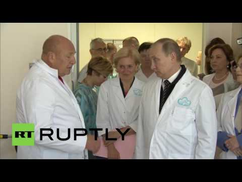 Russia: Putin visits