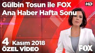 ABD ile Halkbank krizi çözülüyor! 4 Kasım 2018 Gülbin Tosun ile FOX Ana Haber Hafta Sonu