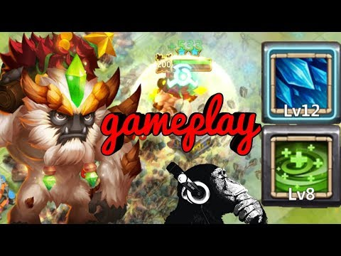 8 Regenerate | Sasquatch | Gameplay | Castle Clash