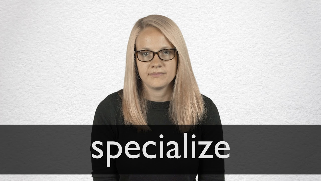 "Hindi Translation of ""specialize"" 