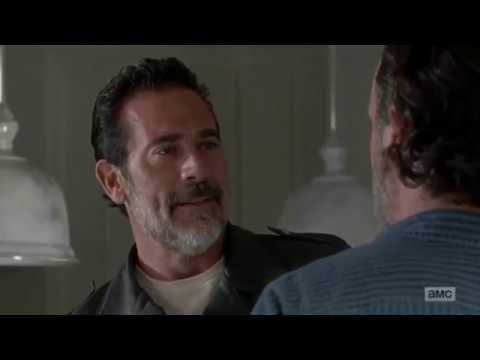 (LGBT) I Hate You But I Love You (Russian Red) Negan & Rick ~ The Walking Dead