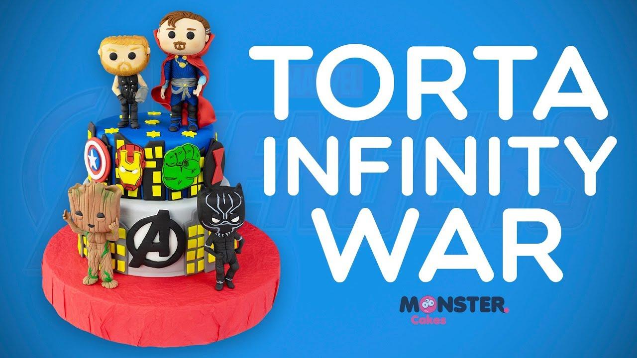 Torta Infinity War Avengers Infinity War Cake Pastel Infinity