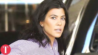 Scott Disick Reacts To Kourtney Kardashian