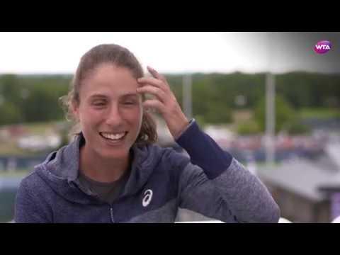 Johanna Konta   2017 Western & Southern Open Pre-Tournament Interview