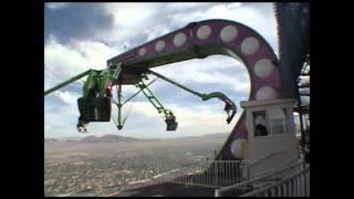 Insanity Off Ride POV Stratosphere Tower Las Vegas Nevada Crazy Thrill Ride