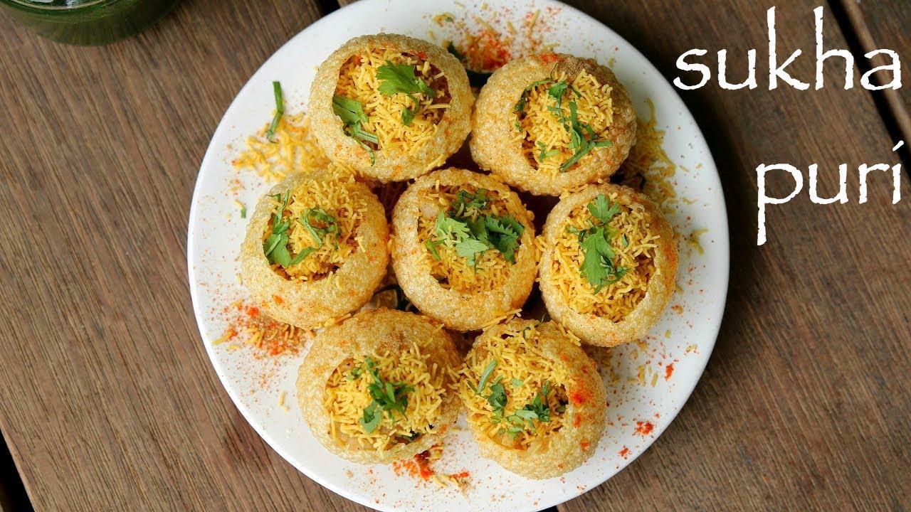 Sukha Puri Recipe Stuffed Sukha Poori Chaat Sukha Masala Puri