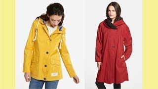 Womens Waterproof Rain Jacket With Hood