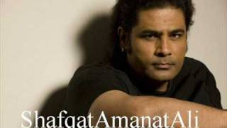 Shafqat Amanat Ali - Teri Yaad Aayi - Khamoshiyan  - With Lyrics