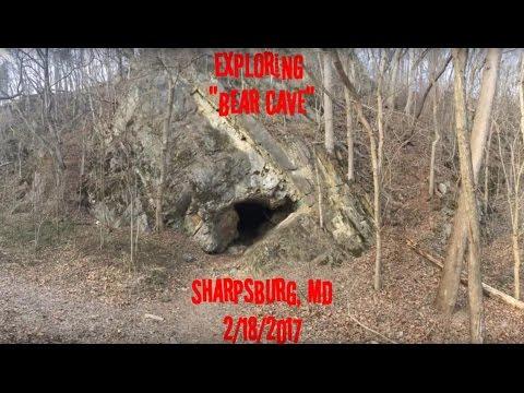 """Exploring """"BEAR CAVE"""" 2/18/2017"""