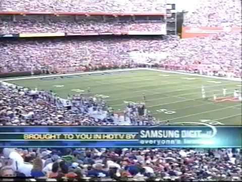Miami Hurricanes vs  Florida football 2002