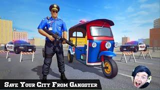 Police Tuk Tuk Auto Rikshaw Driving Game 2021//How To Play Police Tuk Tuk Auto Rikshawa Driving Game screenshot 3
