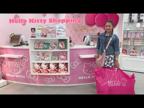 Hello kitty gift shop in Namsan seoul tower
