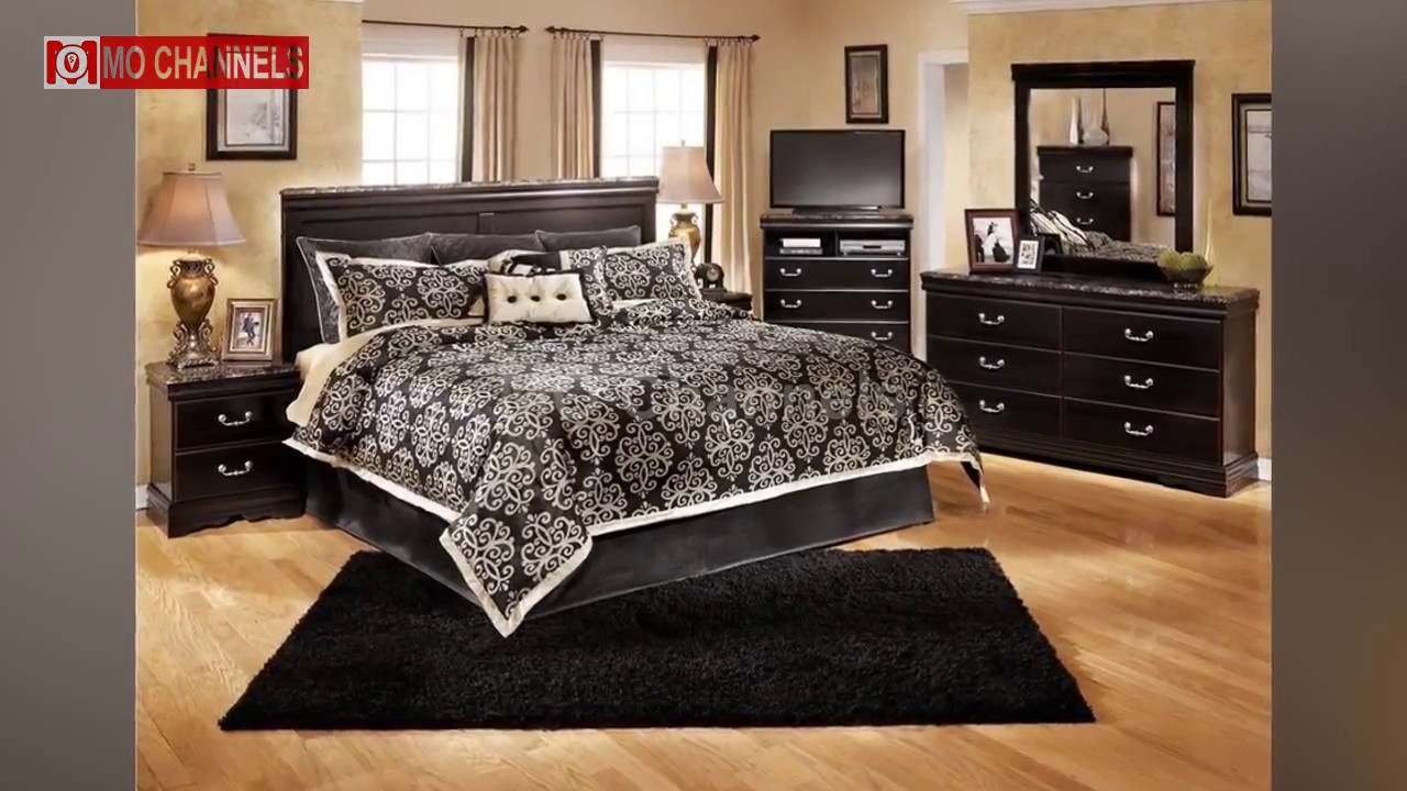 Best 30 Black Bedroom Furniture Decorating Ideas - YouTube