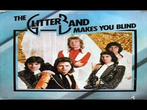 The Official Glitter Band Website. Homepage.