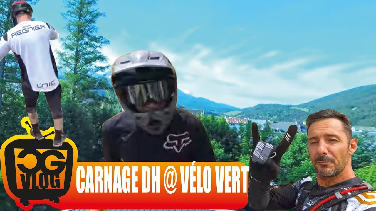 I WIN CARNAGE DH 2018, The Most Famous Freeride Downhill Mountain Bike Race  - CG VLOG #323