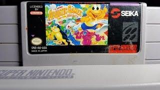 Classic Game Room - THE SUPER AQUATIC GAMES STARRING THE AQUABATS review for SNES