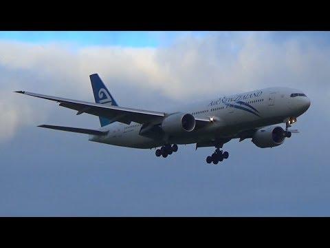 Pacific Wave Air New Zealand B777-219(ER) | Landing Auckland Airport | ZK-OKG