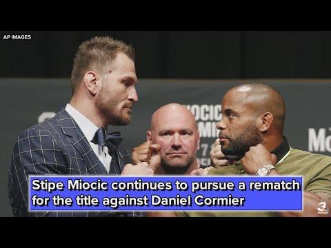 Stipe Miocic to Daniel Cormier: Last fight was a fluke, let's rematch April 13