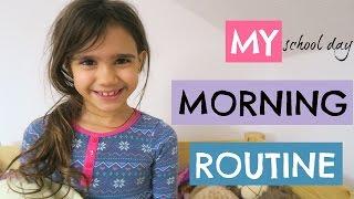 ELSIE'S SCHOOL MORNING ROUTINE | 8YR OLD