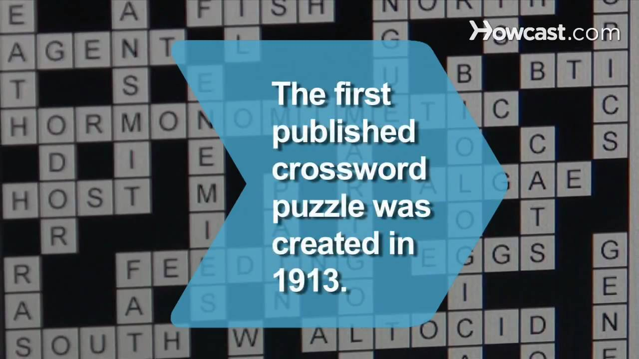 How to Make a Crossword Puzzle - YouTube