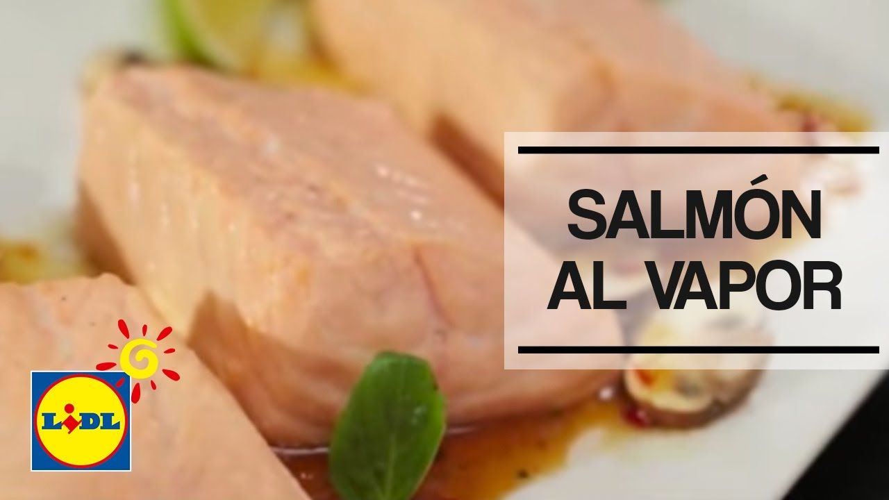 Salmon Al Vapor Monsieur Cuisine Plus Lidl Espana Youtube