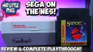 Sega On NES In 1989! Tengen Shinobi Nintendo Review & Complete Play Through!