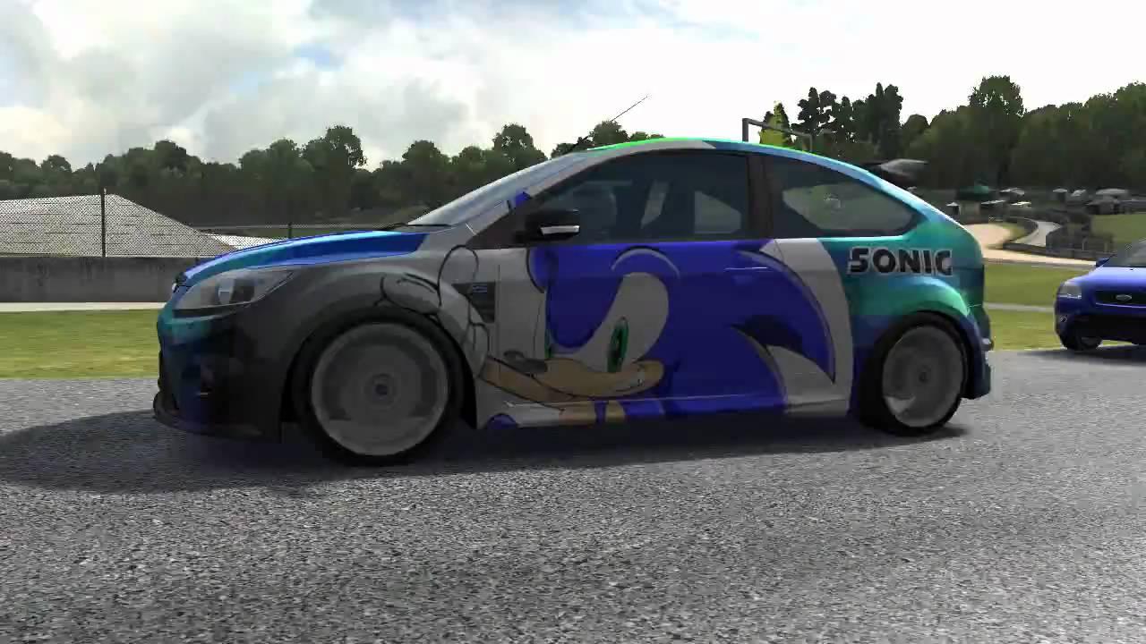Forza Motorsport 3  Sonic the Hedgehog car design  YouTube