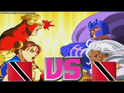 X-Men Vs. Street Fighter - SoulAkuma vs tokyodrifta