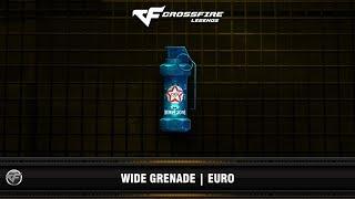 CFM : Wide Grenade | Euro