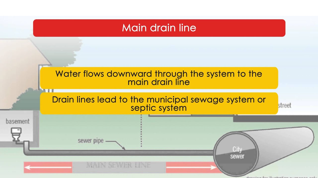 Vent System How Your Drain Waste Vent System Works Youtube