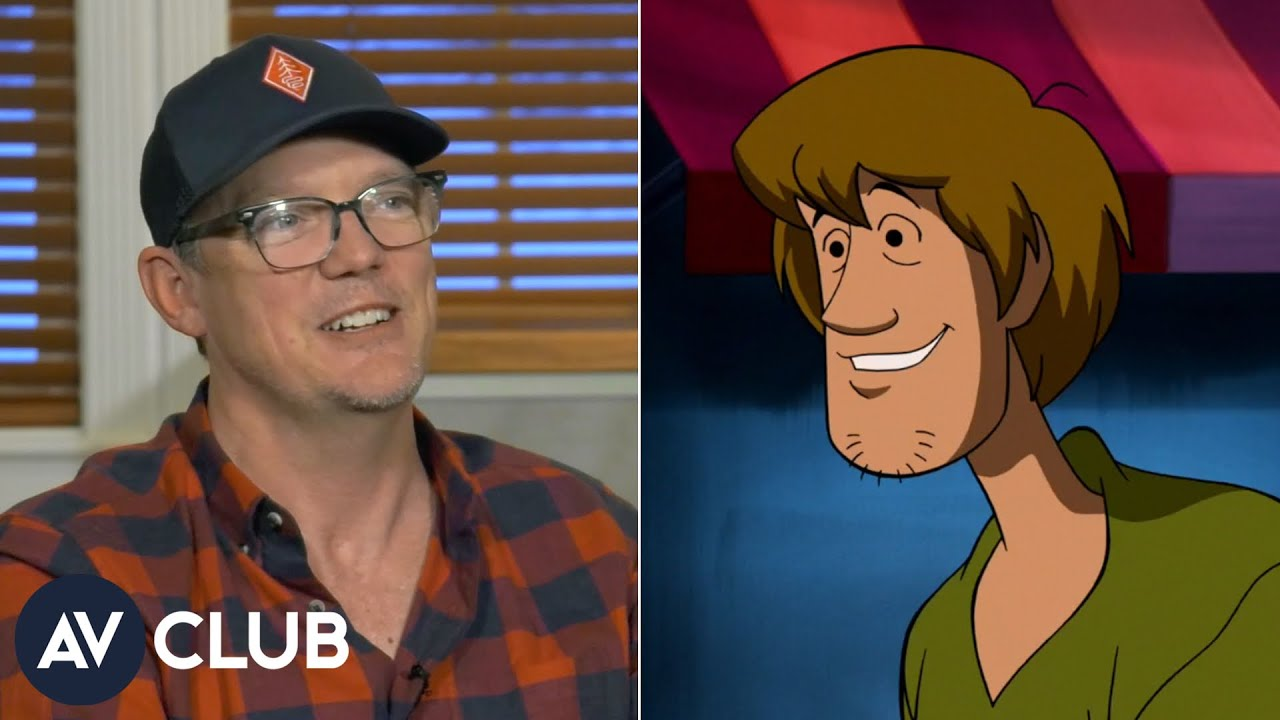 Matthew Lillard teaches us how to do the voice of Shaggy from Scooby-Doo
