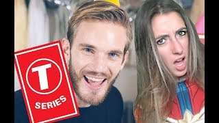 Youtuber Reacts To PewDiePie - Congratulations