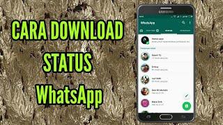 Download cara  download status WhatsApp