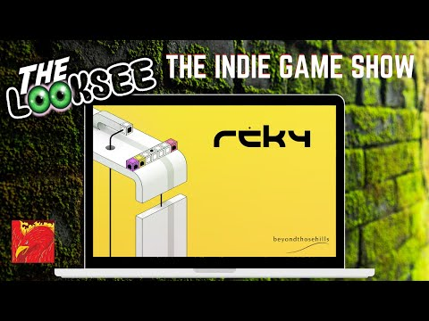 Reky   The LookSee   First Look Series   The Indie Game Show  