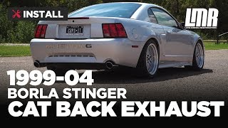 """1999-2004 Mustang Borla S-Type """"Stinger"""" Cat Back Exhaust - Install & Sound Clips"""