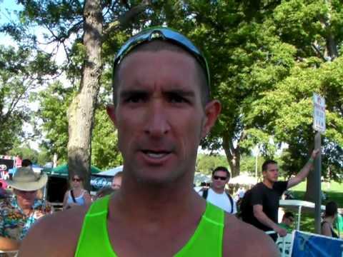 Matt Reed Interview - 2010 Life Time Fitness Triathlon
